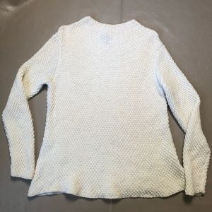 Eileen Fisher Ivory Knitted sweater SZ S